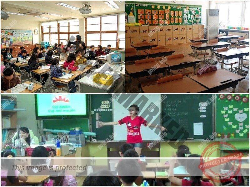 Классы младшей школы Южной Кореи