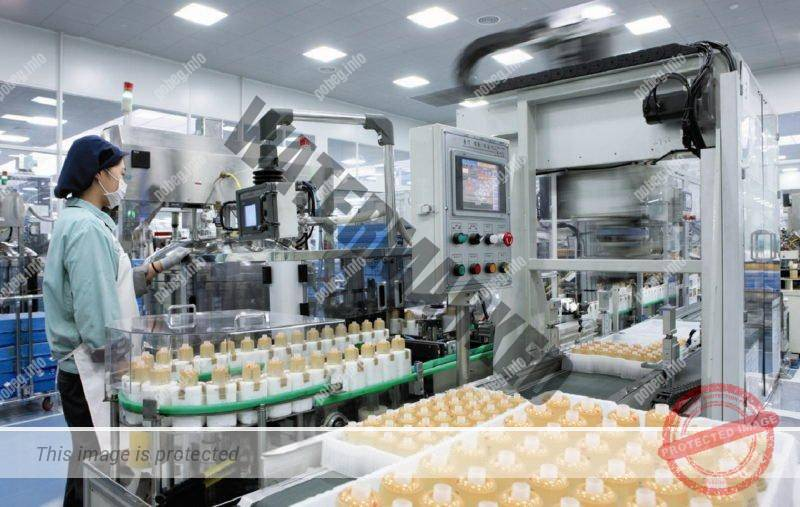 Фабрика по производству корейской косметики
