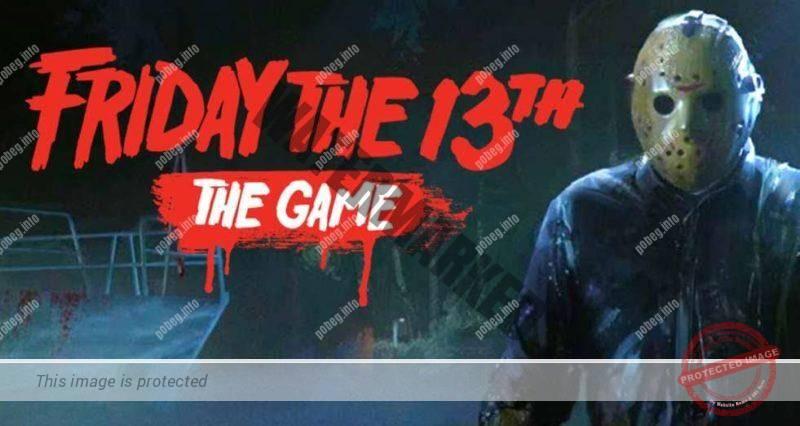 Пятница 13, компьютерная игра, обложка