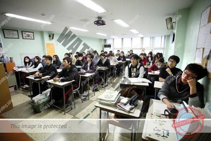 хХагвон в Южнокорейской высшей школе