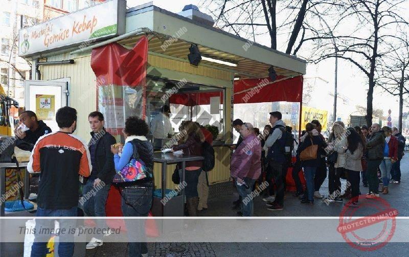 Точка продажи кебаба в Берлине