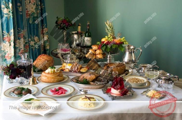 Завтрак в викторианскую эпоху